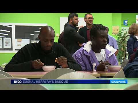 25 migrants africains sont arrivés dans le nouveau centre d'accueil de Bayonne