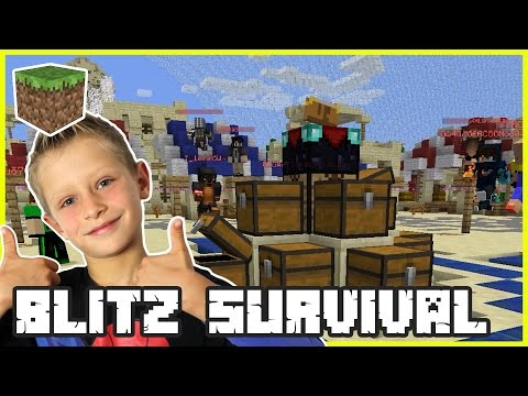 Blitz Survival Games on hypixel server | Minecraft Mini Games
