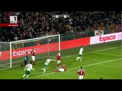 Футбол(головете) Дания - България 1:1 26.03.2013 г.