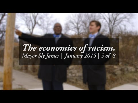 The economics of racism -- Walk and talk with Mayor Sly James #5/8