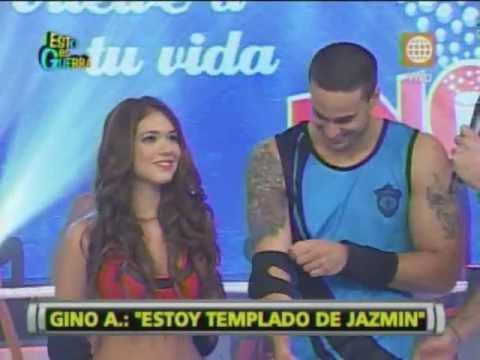 Esto es Guerra: Gino Assereto: Estoy enamorado de Jazmín Pinedo - 10/07/2013