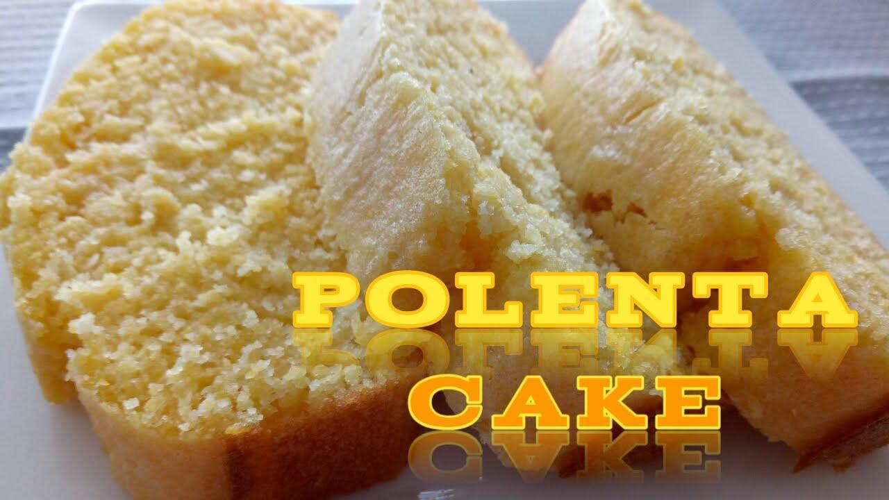 Resep Kue Jagung Polenta Cake Recipe Youtube