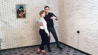 Blues dance // Танец блюз: урок 3