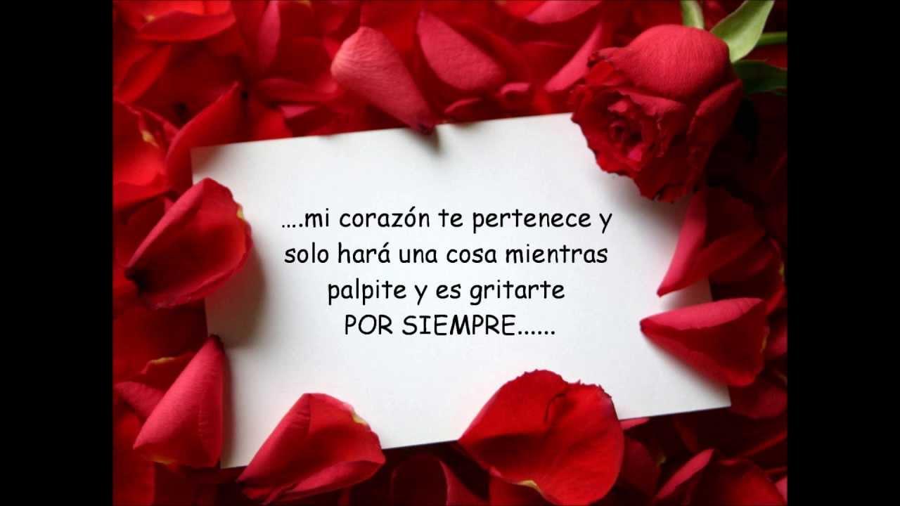 Imagens De Te Amo Para Namorado: Poema Romantico Para Dedicar Y Decir Que TE AMO
