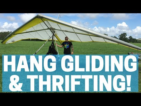 Hang Gliding, THRIFTING & Mail Time! - eBay / Amazon Sellers