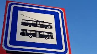 Znovuzahájení trolejbusové dopravy v Praze dne 15. 10. 2017