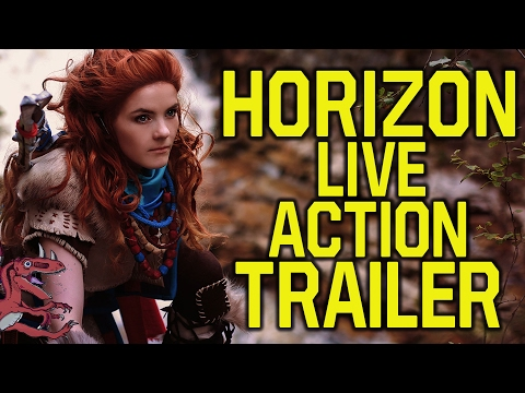 Horizon Zero Dawn LIVE ACTION TRAILER COMING?! (Horizon Zero Dawn trailer - Horizon Zero Dawn news)