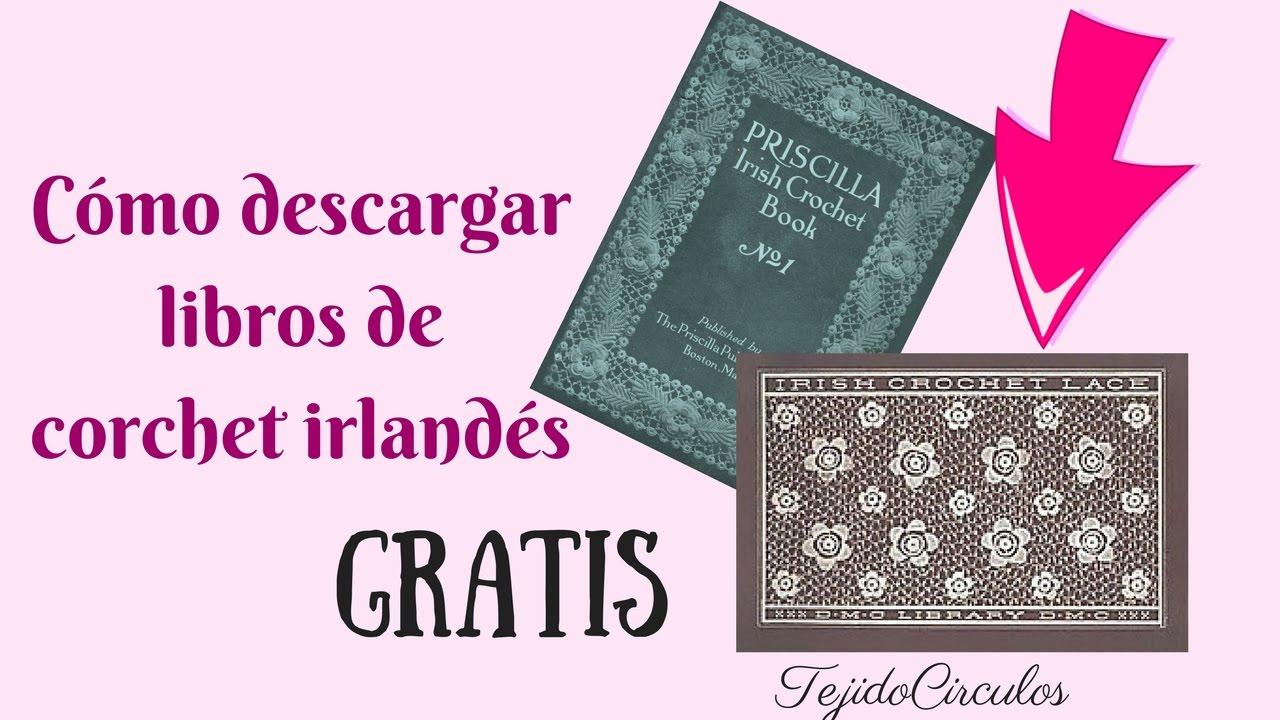 Cómo DESCARGAR libros y patrones de crochet irlandés GRATIS ...