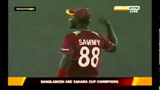 A very stupid incident in cricket   Batsman forgot to take the winning run