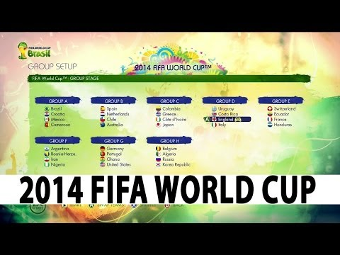 2014 FIFA World Cup Brazil  Gameplay  World Cup Mode
