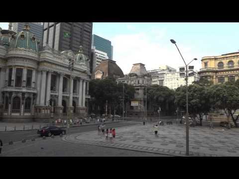 Praça Floriano (Cinelândia) - Rio de Janeiro - Brasil