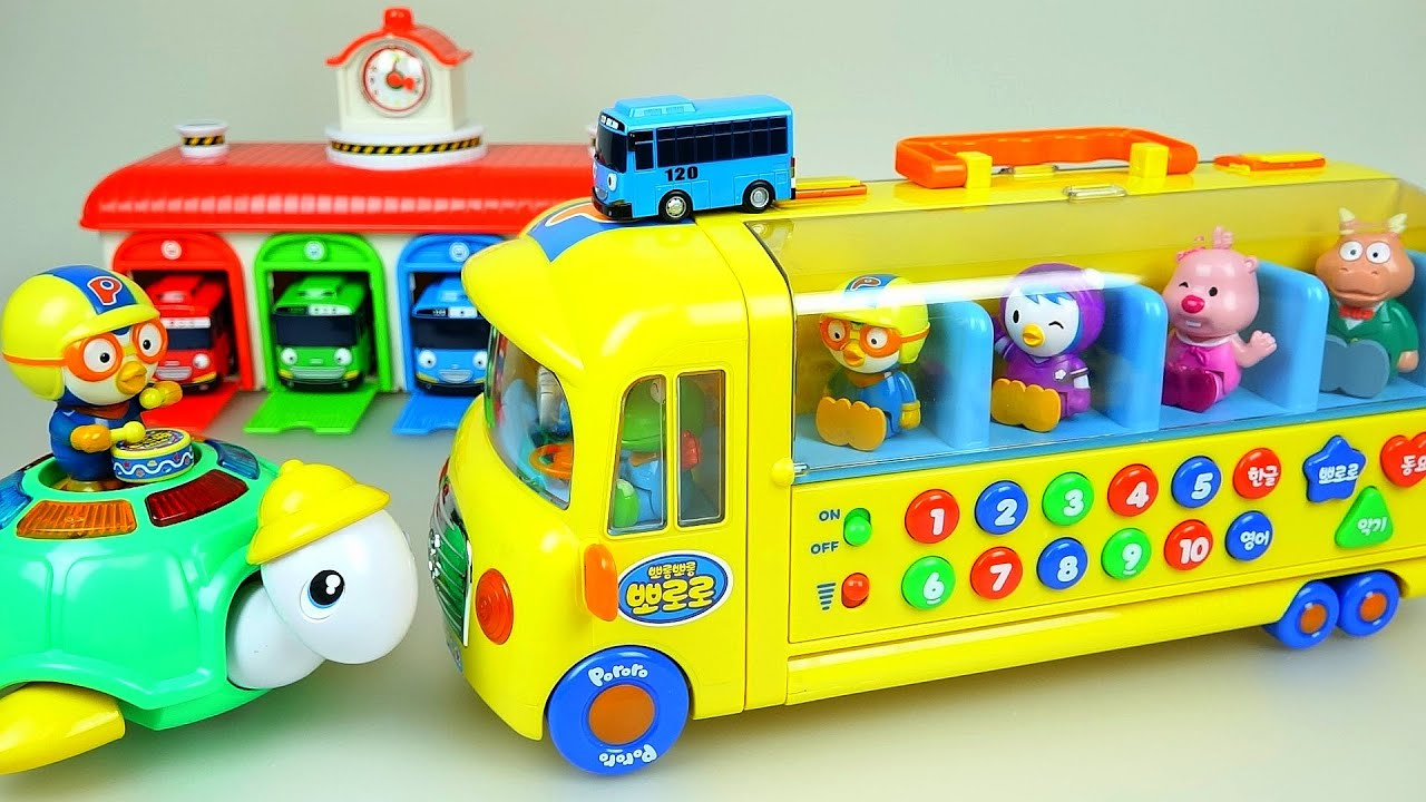 Like Toy Tv : Bus turtle pororo car toys with tayo the little