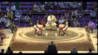 Bungonishiki vs Matsubayama Day 15 Sumo Nagoya Basho July 2014