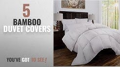Top 10 Bamboo Duvet Covers [2018]: Mandarin Home Luxury 100% Rayon Derived From Bamboo Comforter