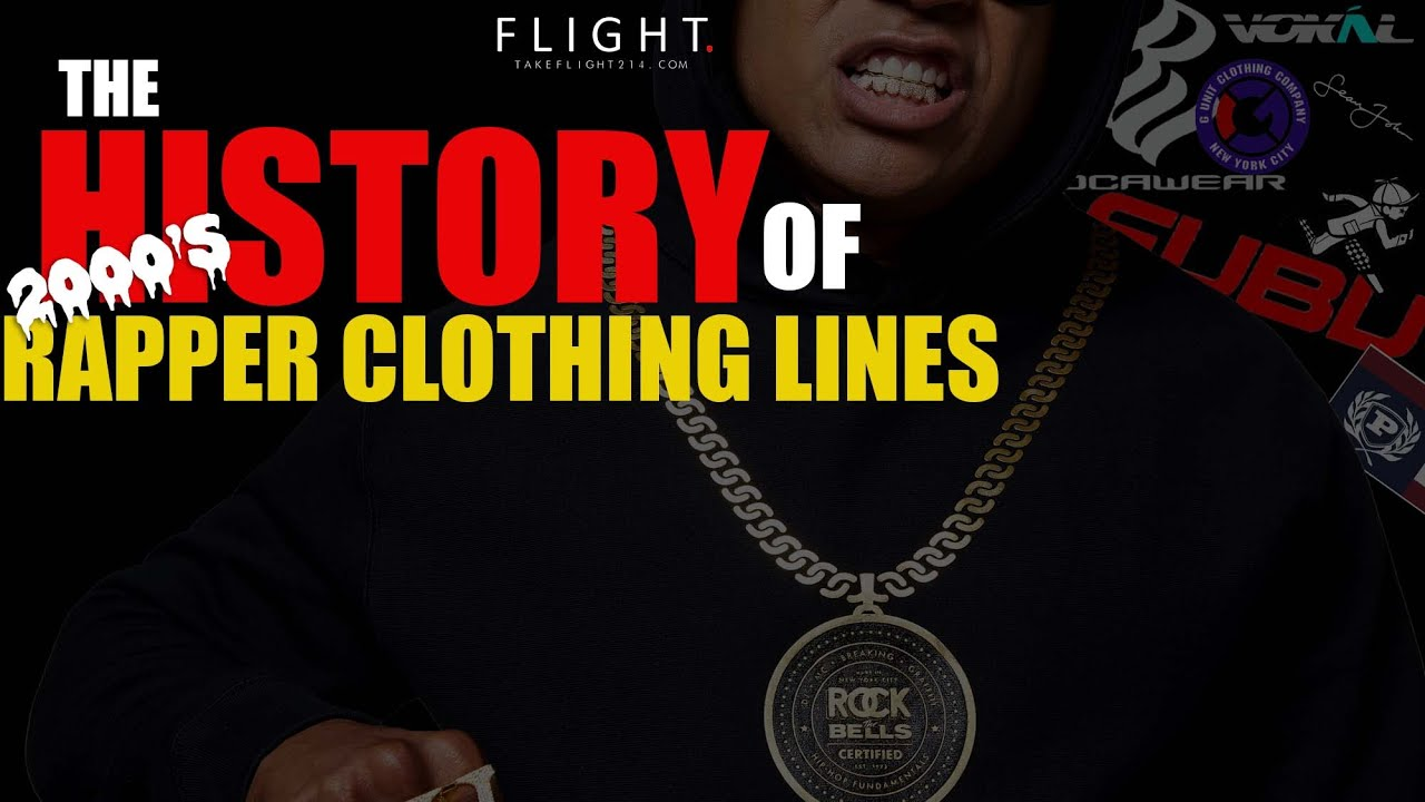 What Happen To Rapper Clothing Lines? The History of 2000's Rap Brands
