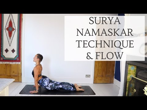 SUN SALUTATION A | Technique & Modifications | CAT MEFFAN