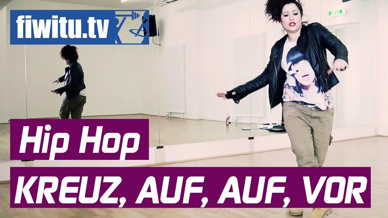 hip hop lernen kreuz auf auf vor youtube. Black Bedroom Furniture Sets. Home Design Ideas