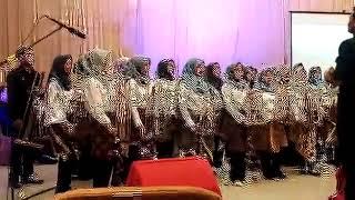 Kolaborasi Musik Angklung, Gamelan, Band (Havana Song)
