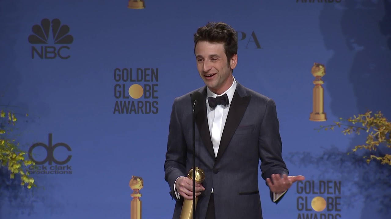 'First Man' Composer Justin Hurwitz - Golden Globes Backstage Interview