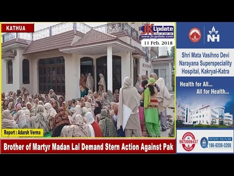 Brother of Martyr Madan Lal Demand Stern Action Against Pak