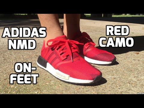 Nmd Red Camo