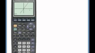 Calculating Values for X and Y by Graphing | TI-83 Plus and TI-84 Plus Graphing Calculators