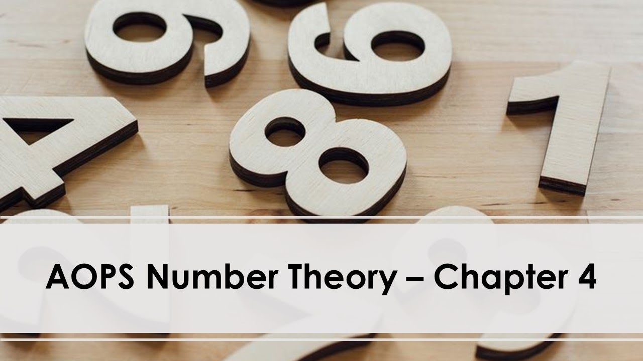 AOPS Number Theory 4 31