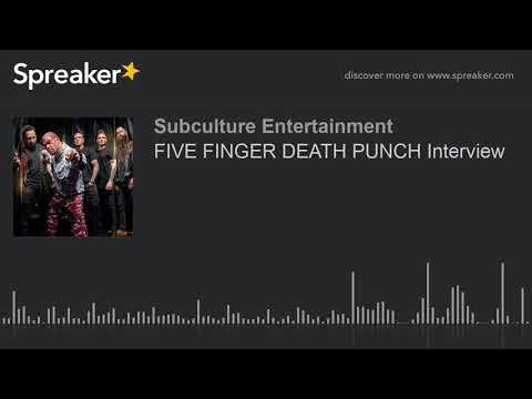 FIVE FINGER DEATH PUNCH Interview (part 2 of 2)