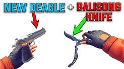 NEW DEAGLE AND BALISONG KNIFE GAMEPLAY - CRITICAL OPS 1.13.0 HUGE UPDATE