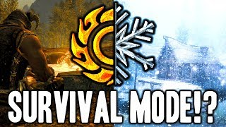 Skyrim SE - SURVIVAL MODE Available on Creation Club!? (Full Details)