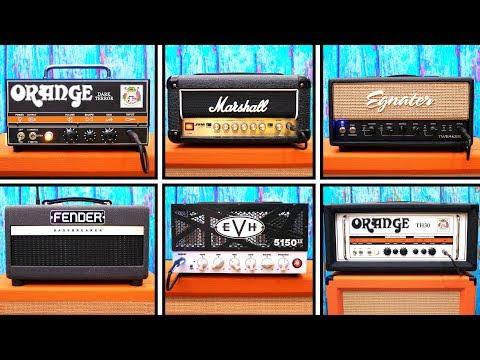 ULTIMATE Small Tube Amp Shootout 2019 - Orange VS Marshall VS Fender VS EVH VS Egnater
