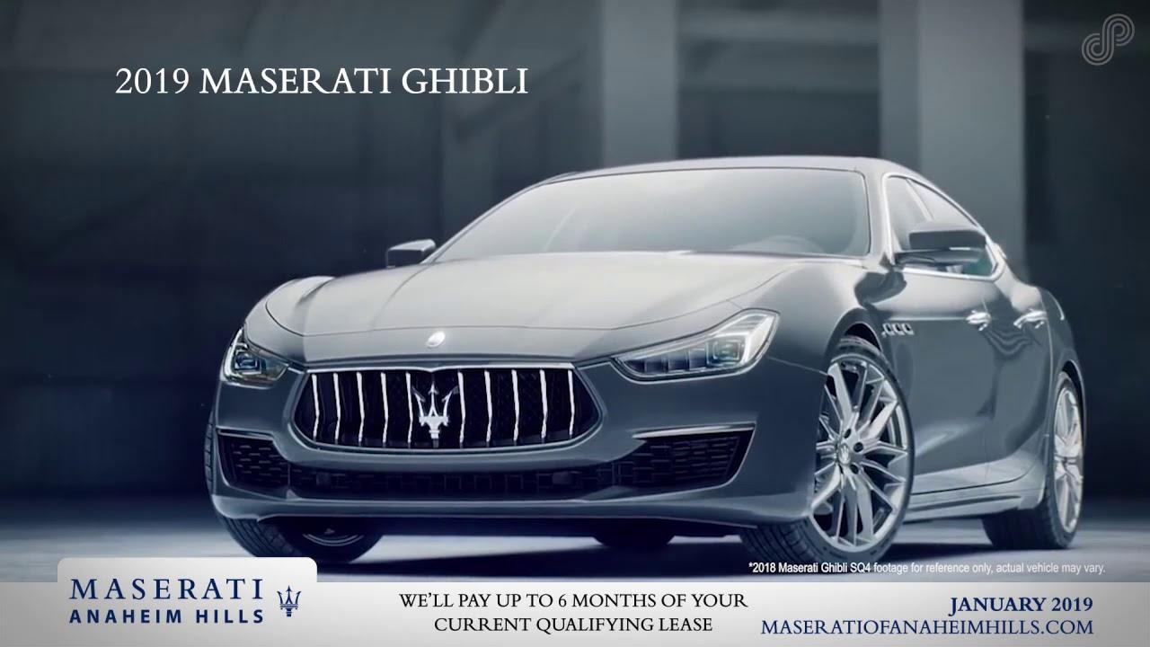 Maserati Anaheim Hills >> 2019 Maserati Ghibli Offer Maserati Of Anaheim Hills January Sp