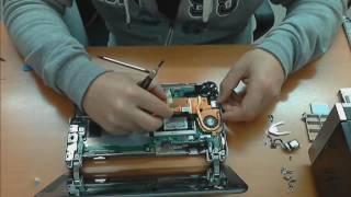 HP 2133 disassembling