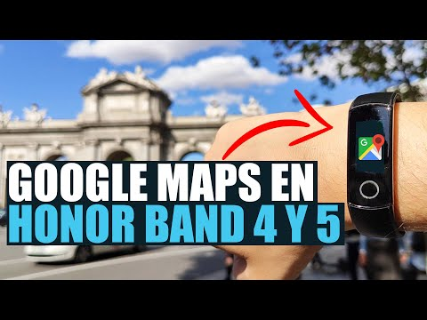 Google Maps En Honor Band 5, Honor Band 4 Y Huawei Watch GT