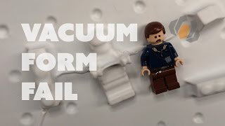 Prop: Live from the Shop - Vacuum Forming Fails & Experiments