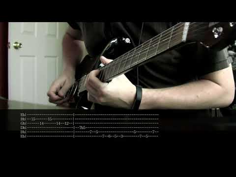 The One You Know - Alice in Chains   Solo Cover with Tabs
