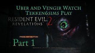 Resident Evil Revelations 2 Part 1!  OMG SCURRY!