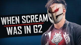 When ScreaM was in G2 ★ CS:GO