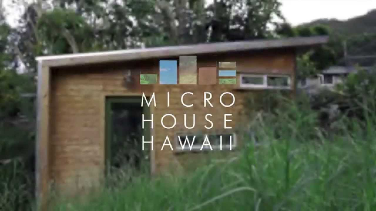 Architectural Designers Micro House in Hawaii YouTube