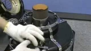 アラジンブルーフレームの芯の交換方法です。