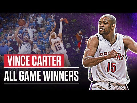 Vince Carter ALL Game Winners (1999 - 2018)