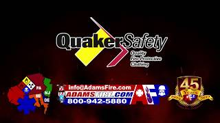 Introducing Quaker Safety Firefighter Protective Clothing