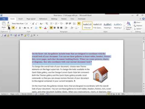 How to Copy & Paste for Beginners : MS Word Skills