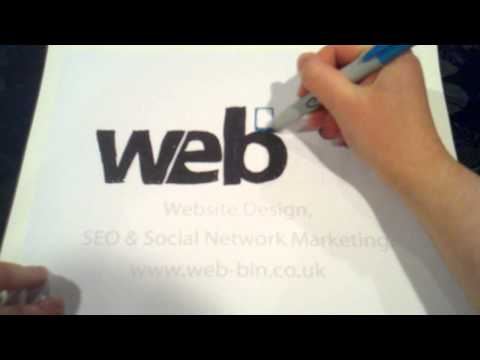 Web Bin Website Design Aylesbury's Speed Colour Logo.