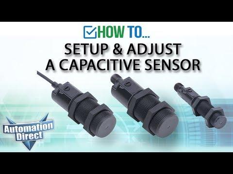 Setup and Adjust Capacitive Sensor