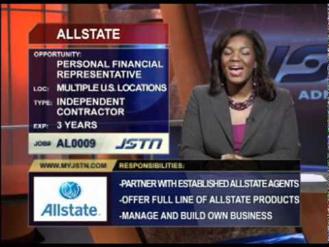 personal financial representative allstate insurance employment