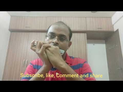 Mouth organ, harmonica instrumental patriotic song with lyrics, hum honge kaamyab