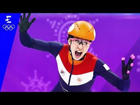 Short Track Speed Skating | Women's 1000m Highlights | Pyeongchang 2018 | Eurosport