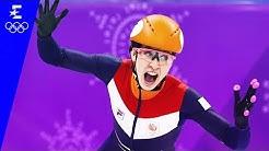 Short Track Speed Skating   Women's 1000m Highlights   Pyeongchang 2018   Eurosport