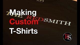 DIY - Making Custom T-shirt With A Vinyl Cutter